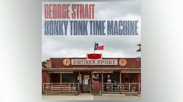 "George Strait's six-year-old grandson couldn't wait to board his ""Honky Tonk Time Machine"""