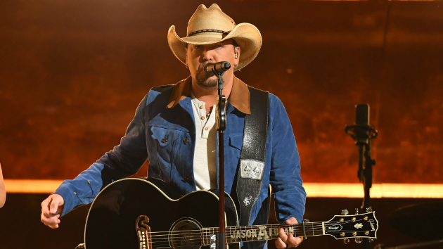 Jason Aldean's ready to Ride All Night at the home of the Texas Rangers