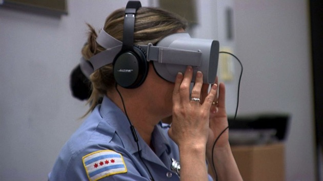 New virtual reality training tech takes cops directly into the minds of the mentally distressed