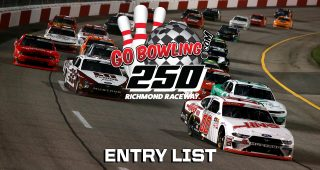 Go Bowling 250 Entry List