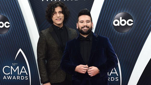 """Dan + Shay's Dan Smyers says his four dogs are """"a constant form of entertainment"""""""