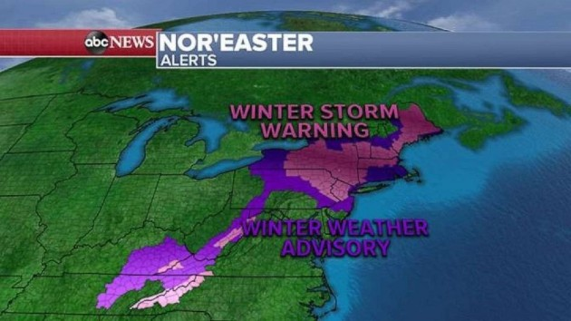7 New York counties under state of emergency as snowstorm slams Northeast: Latest forecast