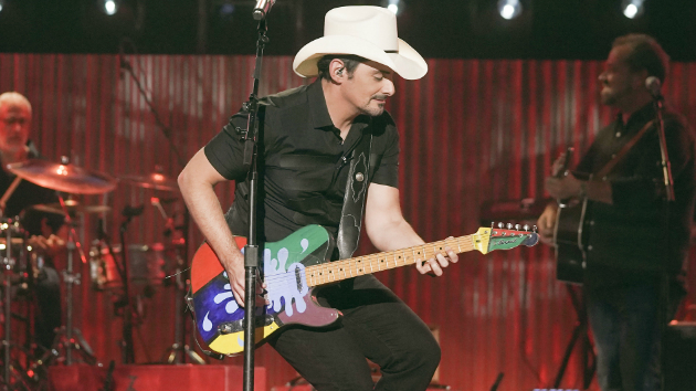 Brad Paisley issues a dodgeball challenge to his famous friends to raise money for The Store