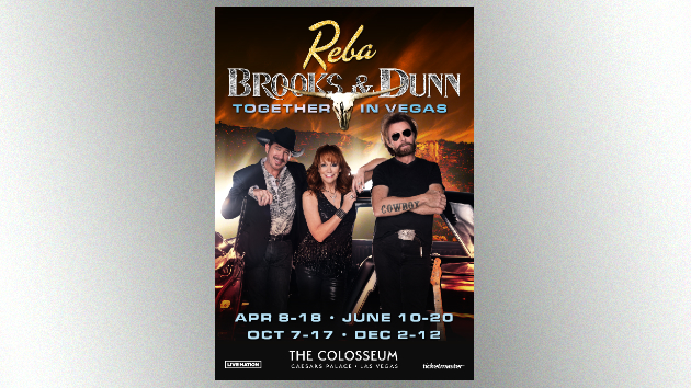 Together Again in Vegas: Reba and Brooks & Dunn return to Sin City in 2020