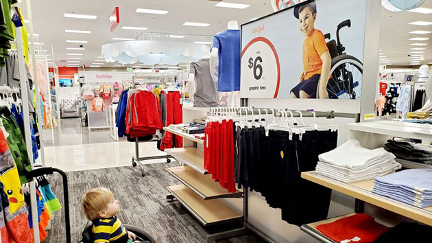 Target ad stops little boy and his wheelchair in their tracks