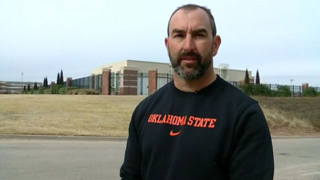 Oklahoma State University employee saves man trapped in a burning truck