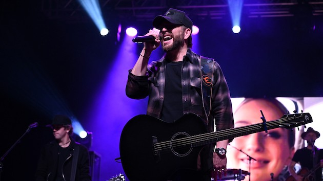 """I Don't Know About You,"" but Chris Lane misses playing live, so he's re-living special onstage moments"
