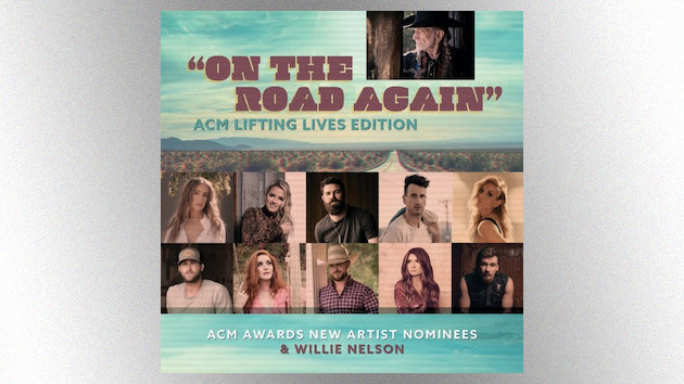 "Morgan Wallen, Gabby Barrett and more ACM New Artist nominees revisit Willie Nelson's ""On the Road Again"""
