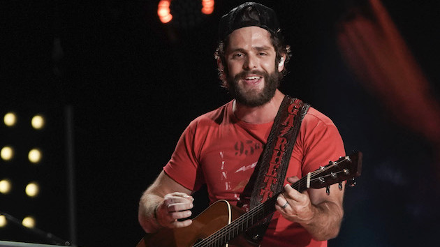 Thomas Rhett surprises healthcare workers with thanks and music during virtual acoustic show