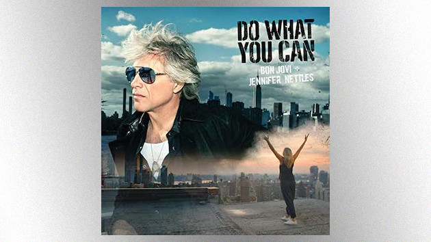 "Jennifer Nettles reunites with Bon Jovi for ""Do What You Can,"" a song for the COVID-19 era"