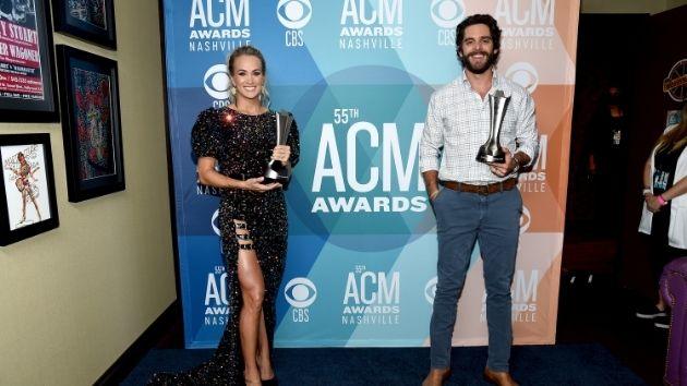 "Thomas Rhett on ACM Entertainer of the Year win: ""It made me feel like I'm not the new guy anymore"""
