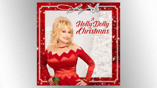 "Dolly Parton embraces her inner child with the playful ""I Saw Mommy Kissing Santa Claus"""