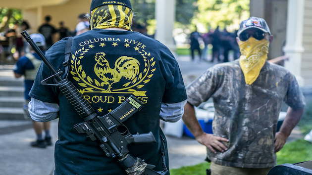 Neo-Nazi and Proud Boys groups push Trump campaign poll watching operation online: Reports