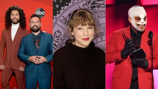 American Music Awards 2020: Taylor Swift, the Weeknd and Dan + Shay are this year's big winners