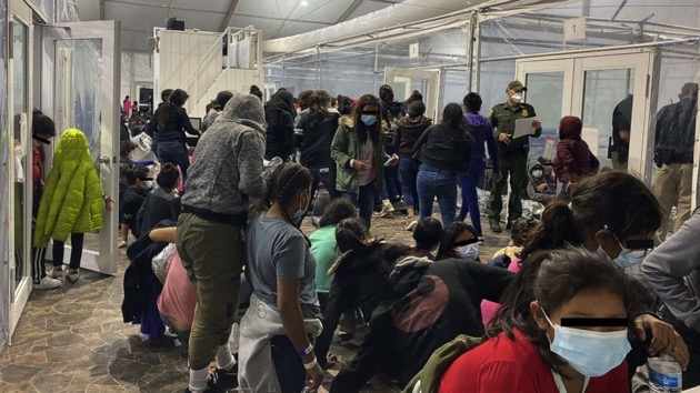 New photos show migrants in overcrowded Border Patrol facility in Texas